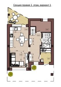 Секция правая 1 этаж, вариант 1-page-001