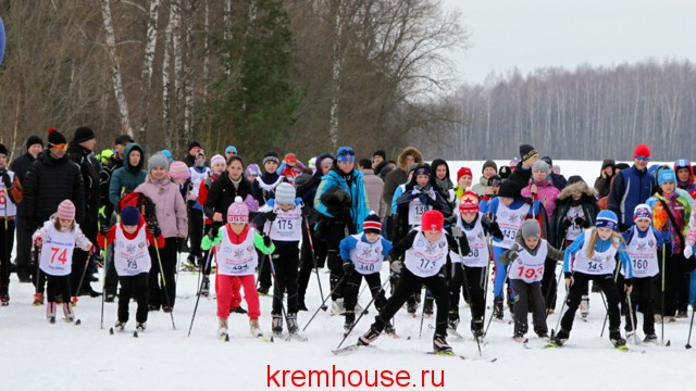 лыжная гонка Кременки